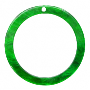 Resin hangers rond 35mm Classic green