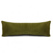 Sieraad display kussentje velvet soft Dusty olive green