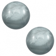20 mm classic cabochon Polaris Elements pearl shine Sea grey