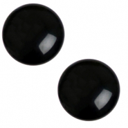 20 mm classic cabochon Polaris Elements shiny Jet black