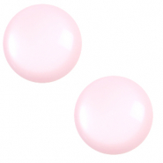 20 mm classic cabochon Polaris Elements shiny Seashell pink