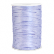 Satijn draad 2.5mm Soft lavender purple