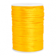 Satijn draad 2.5mm Sunflower yellow
