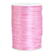 Satijn draad 2.5mm Light pink