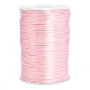 Satijn draad 2.5mm Light rose