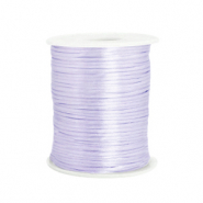 Satijn draad 1.5mm Soft lavender purple