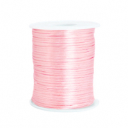 Satijn draad 1.5mm Light rose