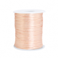 Satijn draad 1.5mm Peachy rose