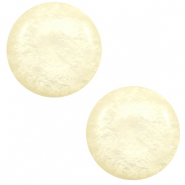 20 mm Classic cabochon Polaris Elements Mosso shiny Cream yellow