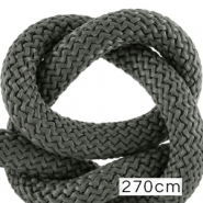 Maritiem koord 10mm (270cm) Dark grey