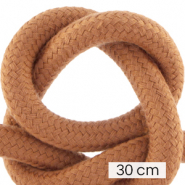 Maritiem koord 10mm (3x30cm) Terracotta brown