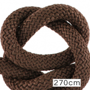 Maritiem koord 10mm (270cm) Dark brown