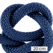 Maritiem koord 10mm (4x20cm) Dark blue