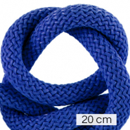 Maritiem koord 10mm (4x20cm) Princess blue