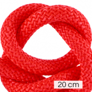 Maritiem koord 10mm (4x20cm) Fiery red
