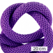 Maritiem koord 10mm (4x20cm) Dark purple