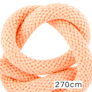 Maritiem koord 10mm (270cm) Light salmon pink