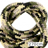 Maritiem koord 10mm (270cm) Multicolour army