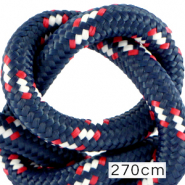 Maritiem koord 10mm (270cm) Multicolour red white blue
