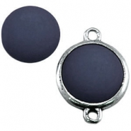 Cabochon Polaris matt 12 mm Denim blue