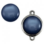 Cabochon Polaris shiny 20 mm Denim blue