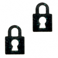 Plexx bedels lock shimmery Black
