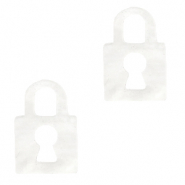 Plexx bedels lock White