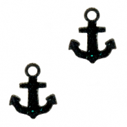 Plexx bedels anchor shimmery Black