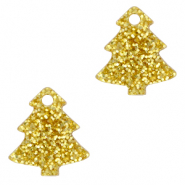 Plexx bedels Christmas tree glitter Golden yellow
