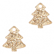 Plexx bedels Christmas tree glitter Rose peach