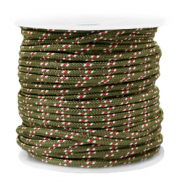 Maritiem koord 2mm Army green