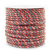 Maritiem koord 2mm Red-blue