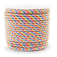 Maritiem koord 2mm Multicolour