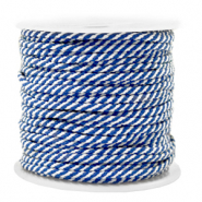 Maritiem koord 2mm Blue-white