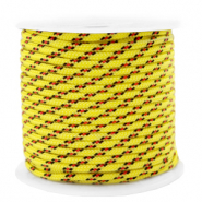 Maritiem koord 2mm Yellow-red