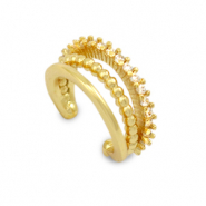 Zirkonia ear cuff Gold