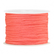 Macramé draad 1.0mm Coral Red