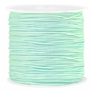 Macramé draad 0.8mm Soft turquoise green