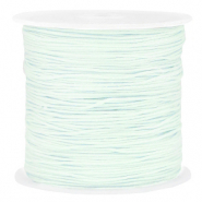 Macramé draad 0.8mm Frosted blue
