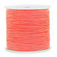 Macramé draad 0.8mm Coral Red