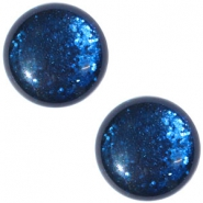 Cabochon Polaris 20 mm paipolas shiny Denim blue