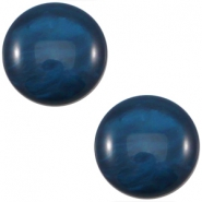 Polaris cabochon 12mm Mosso shiny  Denim blue