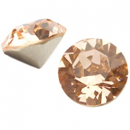 Swarovski Elements SS39 puntsteen (8mm) Light peach
