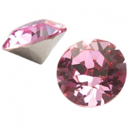 Swarovski Elements SS39 puntsteen (8mm) Light rose