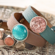 Nieuw Fall! Cuoio armbanden & Polaris Elements cabochons