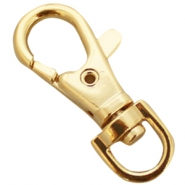 DQ sleutelhanger 38 mm Gold plated