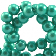 Top quality glasparel 4 mm Emerald groen