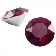 Swarovski Elements SS39 puntsteen (8mm) Burgundy red