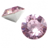 Swarovski Elements SS39 puntsteen (8mm) Light amethyst purple