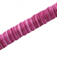 Knitt koord 10mm Fuchsia purple
